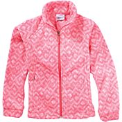 Columbia Infant Girls' Benton Springs Printed Fleece Jacket
