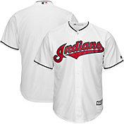Majestic Men's Replica Cleveland Indians Cool Base Home White Jersey