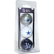 Team Golf Dallas Cowboys Golf Balls – 3 Pack