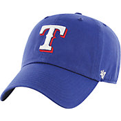 '47 Men's Texas Rangers Royal Clean Up Adjustable Hat