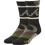 '47 Atlanta Braves Camo Duster Crew Socks