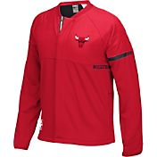 adidas Men's Chicago Bulls On-Court Red Jacket