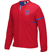 adidas Men's Los Angeles Clippers On-Court Red Jacket