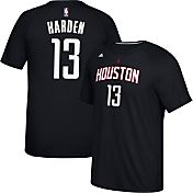 adidas Men's Houston Rockets James Harden #13 climalite Black T-Shirt