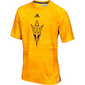 adidas Men's Arizona State Sun Devils Gold Sideline Training T-Shirt