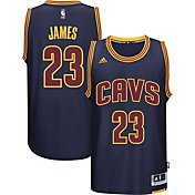 adidas Youth Cleveland Cavaliers LeBron James #23 Alternate Navy Swingman Jersey