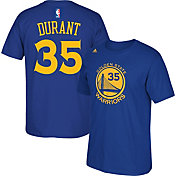 adidas Youth Golden State Warriors Kevin Durant #35 Royal T-Shirt