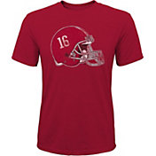 Gen2 Youth Alabama Crimson Tide Crimson Helmet T-Shirt