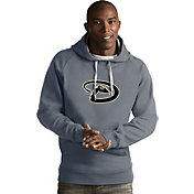 Antigua Men's Arizona Diamondbacks Grey Victory Pullover