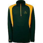 Antigua Men's Baylor Bears Green Delta Quarter-Zip Pullover