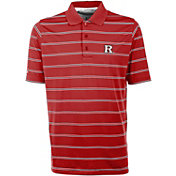 Antigua Men's Rutgers Scarlet Knights Scarlet Deluxe Performance Polo