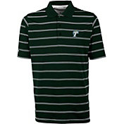Antigua Men's Tulane Green Wave Olive Deluxe Performance Polo