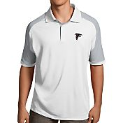 Antigua Men's Atlanta Falcons Century White Polo