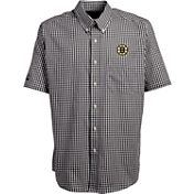 Antigua Men's Boston Bruins Deluxe White Polo Shirt