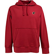 Antigua Men's Calgary Flames Red Signature Fleece Hoodie
