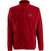 Antigua Men's Calgary Flames Red Full-Zip Ice Jacket