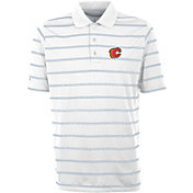Antigua Men's Calgary Flames Deluxe White Polo