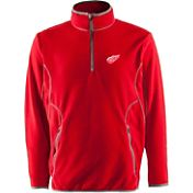 Antigua Men's Detroit Red Wings Red Quarter-Zip Ice Pullover