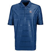 Antigua Men's New York Islanders Illusion Blue Polo