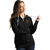 Antigua Women's San Francisco Giants Black Victory Full-Zip Hoodie