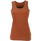 Antigua Women's Houston Dynamo Orange Sport Tank Top