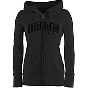 Antigua Women's Carolina Hurricanes Full-Zip Signature Charcoal Hoodie