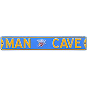 Authentic Street Signs Oklahoma City Thunder 'Man Cave' Street Sign