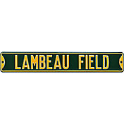 Authentic Street Signs Green Bay Packers 'Lambeau Field' Street Sign