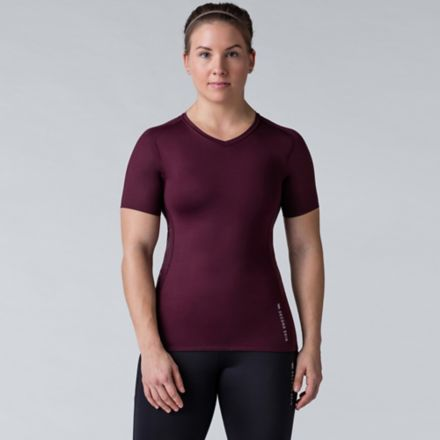SECOND SKIN Women's QUATROFLX Short Sleeve Compression ...