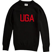 Hillflint Georgia Bulldogs School Black Sweater