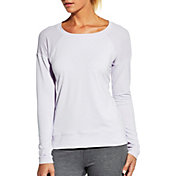 CALIA by Carrie Underwood Women's Mesh Panel Long Sleeve Shirt