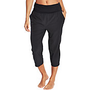 CALIA by Carrie Underwood Women's Plus Size Anywhere Foldover Waist Capris