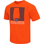 Colosseum Athletics Men's Auburn Tigers Orange State of the Union T-Shirt