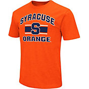 Colosseum Athletics Men's Syracuse Orange Orange Dual-Blend T-Shirt