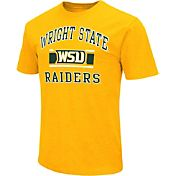 Colosseum Athletics Men's Wright State Raiders Gold Dual-Blend T-Shirt