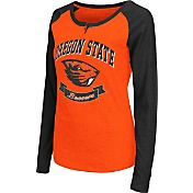 Colosseum Athletics Women's Oregon State Beavers Orange Healy Long Sleeve Shirt