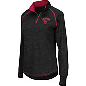 Colosseum Athletics Women's Oklahoma Sooners Black Bikram Quarter-Zip