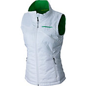 Columbia Women's Oregon Ducks Reversible Powder Puff Black Vest