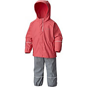 Columbia Girls' Wet Reflect Rain Jacket and Pants Set