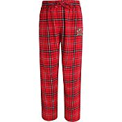 Concepts Sport Men's Maryland Terrapins Red/Black Ultimate Plaid Sleep Pants