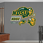 Fathead North Dakota State Bison Logo Wall Decal