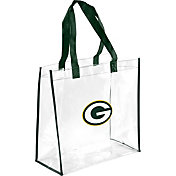 Forever Collectibles Green Bay Packers Clear Reusable Bag