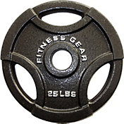 Fitness Gear 25 lb Olympic Cast Plate
