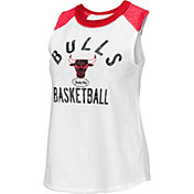 G-III Women's Chicago Bulls White Audible Tank Top