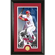 Highland Mint Los Angeles Angels Mike Trout Supreme Bronze Coin Photo Mint