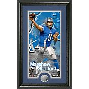 The Highland Mint Detroit Lions Matthew Stafford Framed 'Supreme' Photo Mint