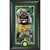 The Highland Mint Green Bay Packers Clay Matthews Framed 'Supreme' Bronze Coin Photo Mint