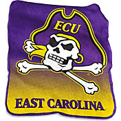 East Carolina Pirates Raschel Throw