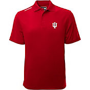 Levelwear Men's Indiana Hoosiers Red Helium Polo