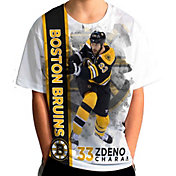 Levelwear Youth Boston Bruins Zdeno Chara #33 Breakaway White T-Shirt